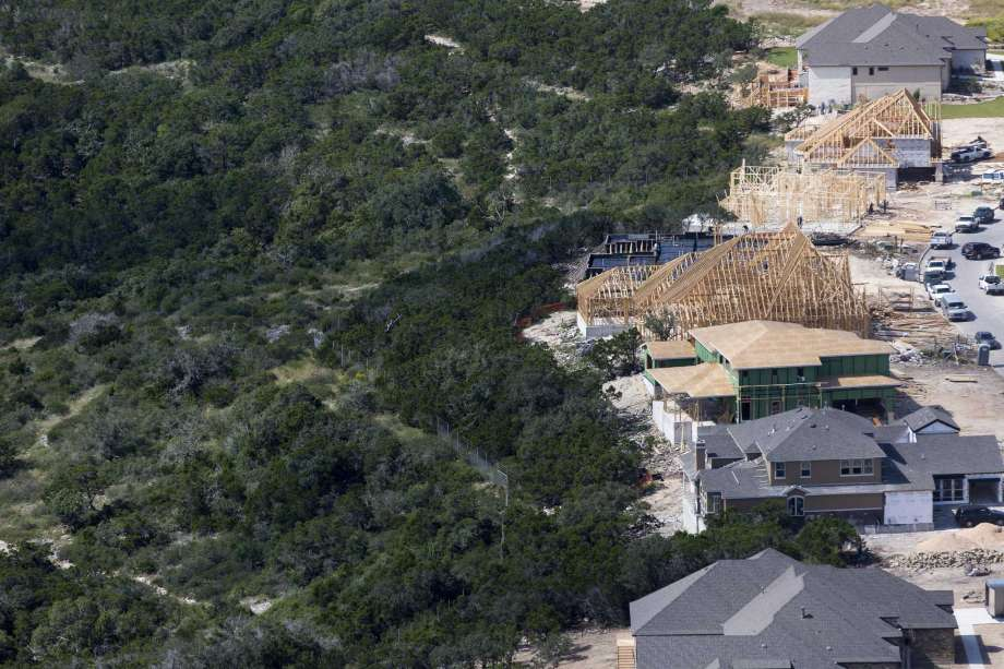 Urban sprawl encroaching on San Antonio's untouched natural areas