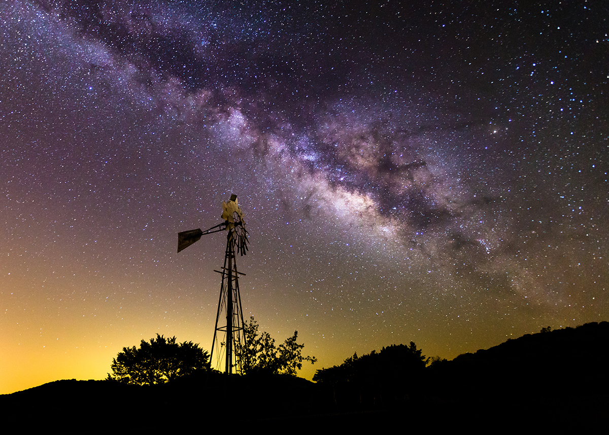 Texas Milky Way Todd Winters