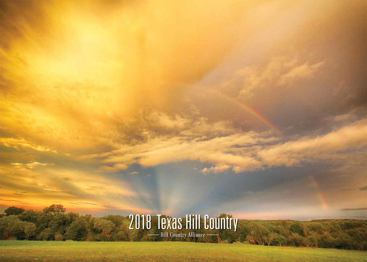 2018 Texas Hill Country Calendar features winners of annual Hill Country Alliance Photo Contest