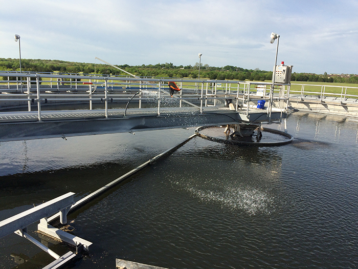 Wastewater plant issue could lead to partially treated effluent in Plum Creek