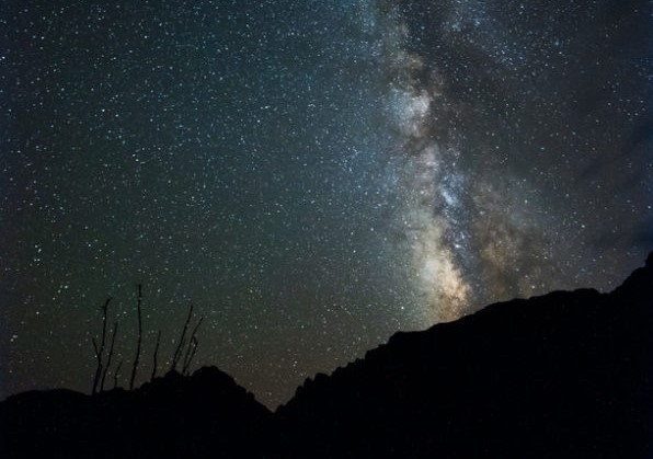 Milky Way At Big Bend 600×783