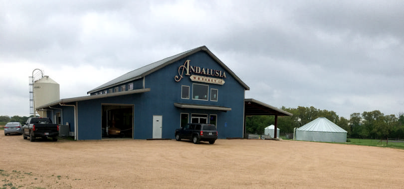 Blanco distillery uses one hundred percent rainwater