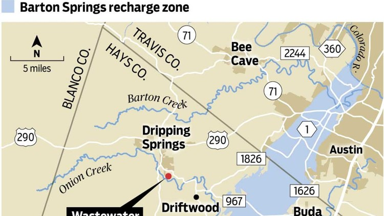 Deal to limit Dripping Springs sewage plant discharge hits snag