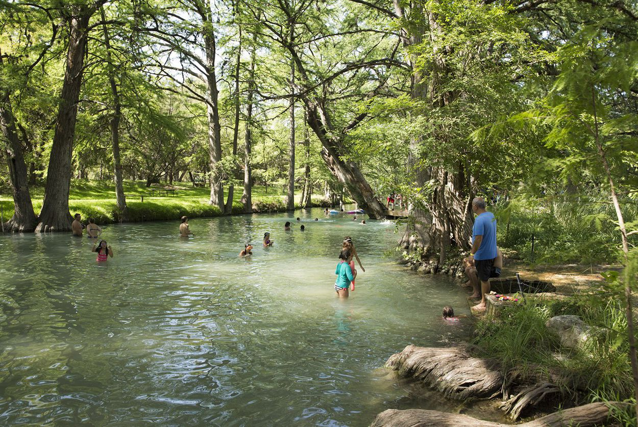 In Wimberley, a fight bubbles up over sewage and a beloved swimming hole