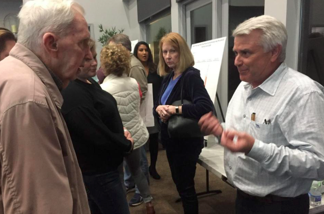 Differing opinions on source of river algae during Liberty Hill town hall