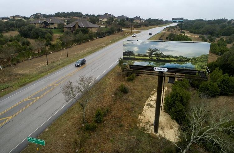 Bill Would Bar New Billboards From Some Hays County Roads