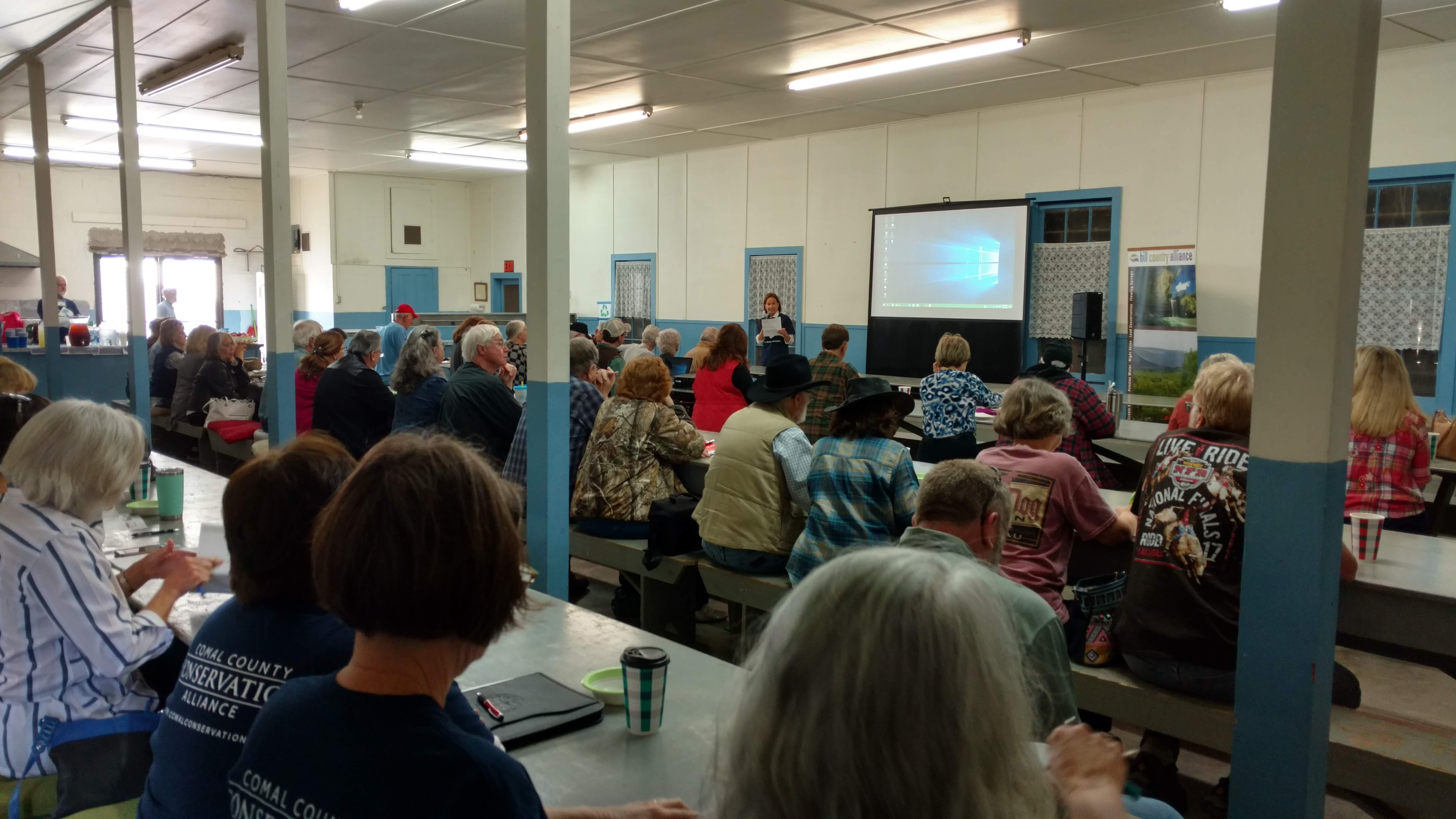 Landowners attend workshop on financial, conservation tools: About 90 hear CCCA, Hill Country Alliance speakers