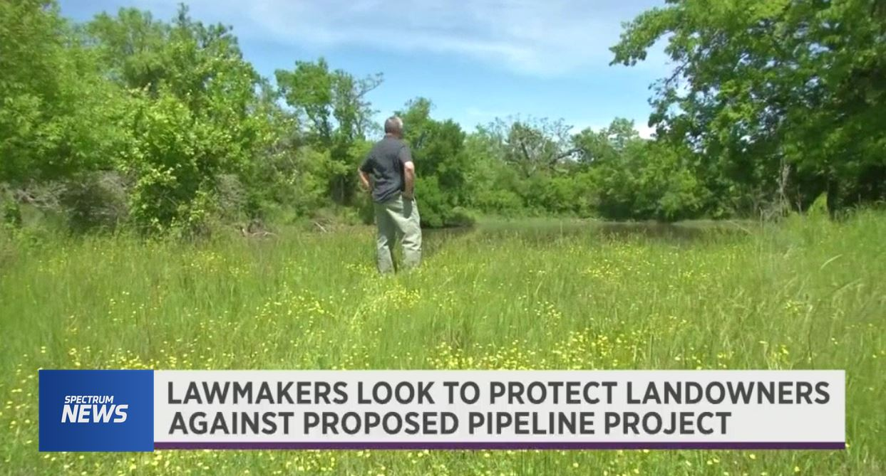 State Lawmakers Look To Protect Landowners Against Proposed Pipeline Project