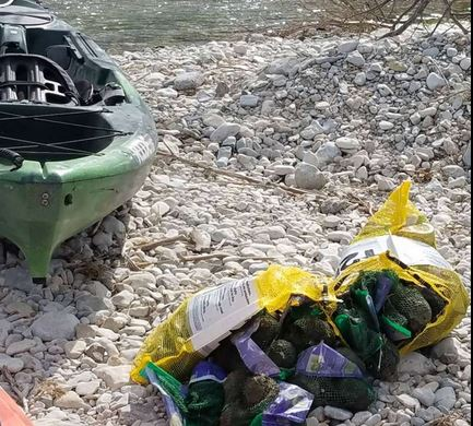 Truck crash spills 42,000 pounds of avocados into South Llano River