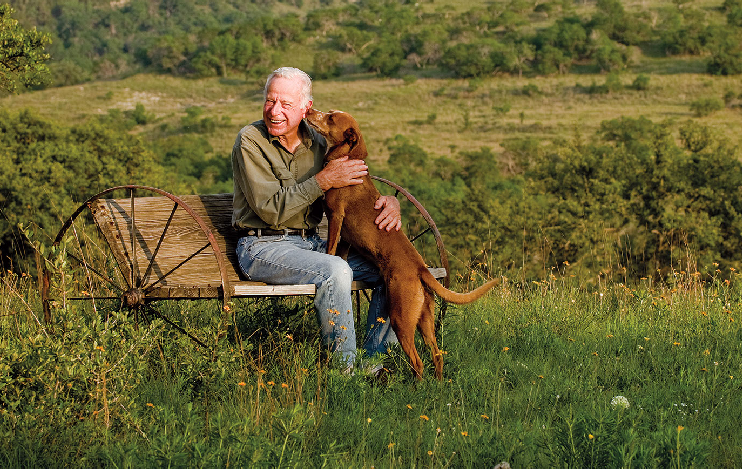 One man's half-century project to heal a Hill Country landscape created a legacy reaching far beyond his fenceline