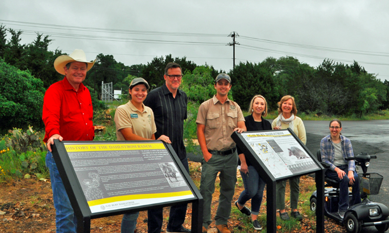 Gay Ruby Dahlstrom Nature Preserve opens