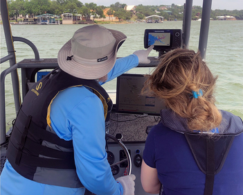Sedimentation Surveys On The Highland Lakes A Look Into The Future Of Water Resources