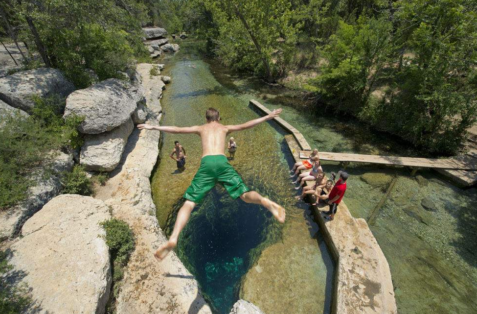 Meadows Center releases report for management, preservation of Jacob's Well