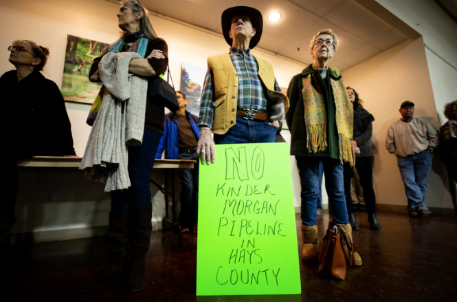 Austin joins legal fight against Permian Highway Pipeline