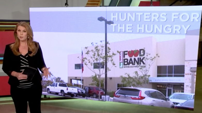San Antonio Food Bank partners with hunters to collect deer meat for hungry families
