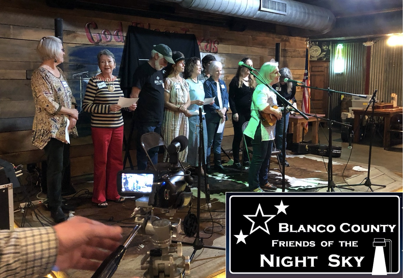 Blanco County's Night Skies Celebrated In Song