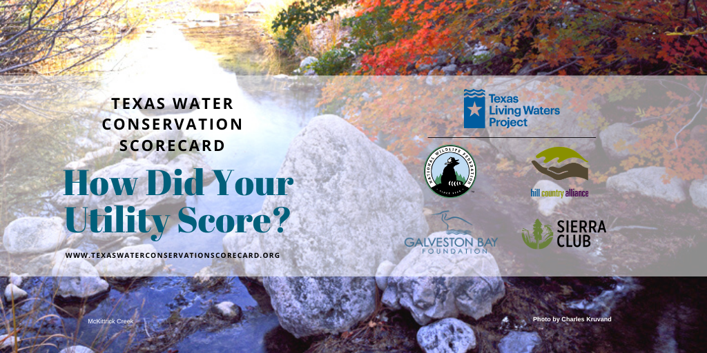 Texas Living Waters Project Unveils 2020 Texas Water Conservation Scorecard