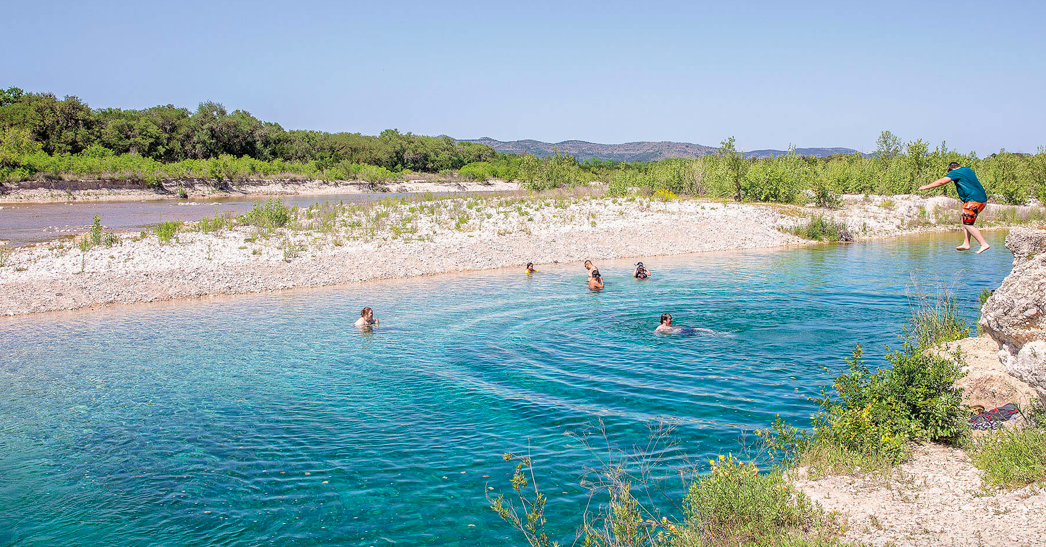 Shhh… This just might be the prettiest body of water in Texas