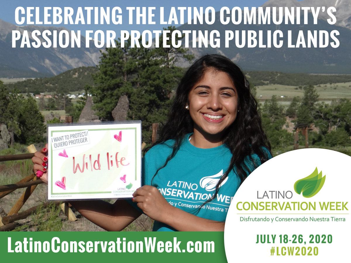 Seventh Annual Latino Conservation Week kicks off this weekend, breaks down barriers to the outdoors and inspires tomorrow's stewards