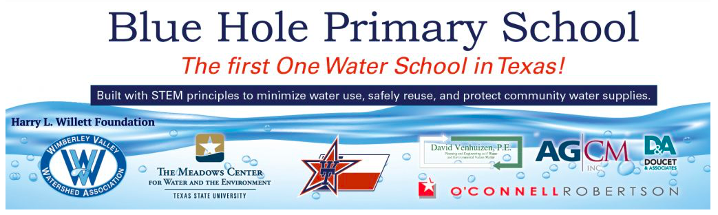 Blue Hole Primary wins TWDB Rain Catcher Award
