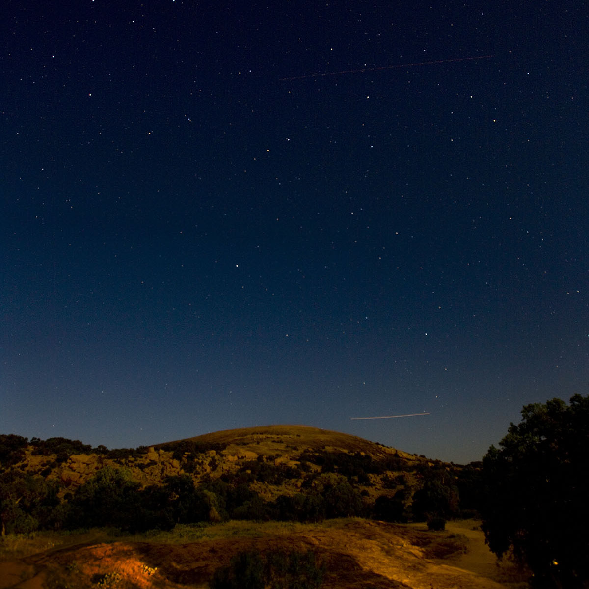 Enchanted Rock Night Sky