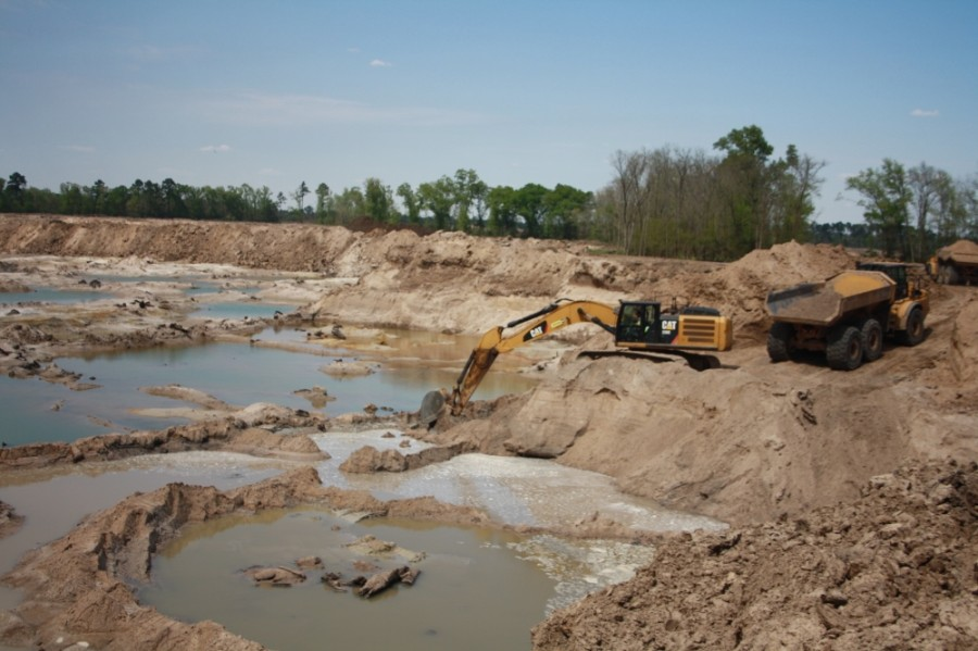 Advocates Are Fighting For Sand Mining Companies To Restore And Reclaim Sites After Companies Are Done. (Kelly Schafler/Community Impact Newspaper)