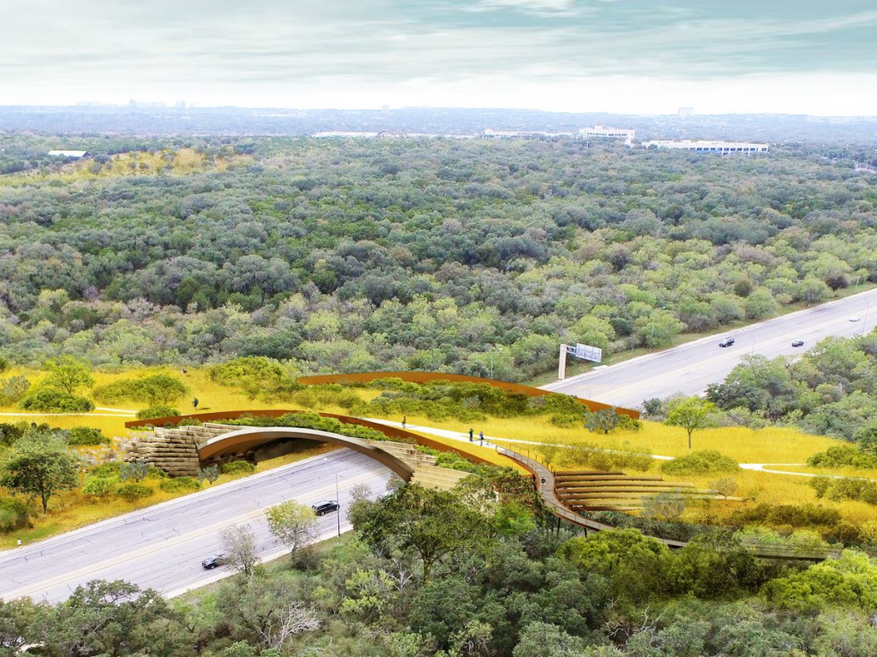 Nation's Largest Land Bridge For People And Wildlife Opens In San Antonio
