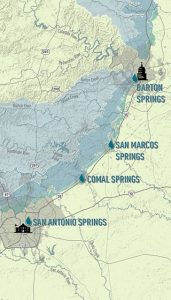Great Springs Project map