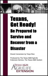 Texans, Get Ready! Be Prepared to Survive and Recover from a Disaster - Ebook cover