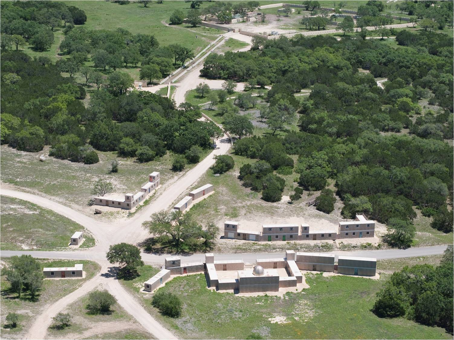 US Army Photo Showing Joint Base San Antonio Camp Bullis