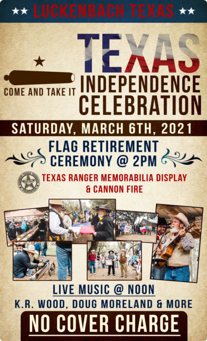 Luckenbach Texas Independence Day Celebration