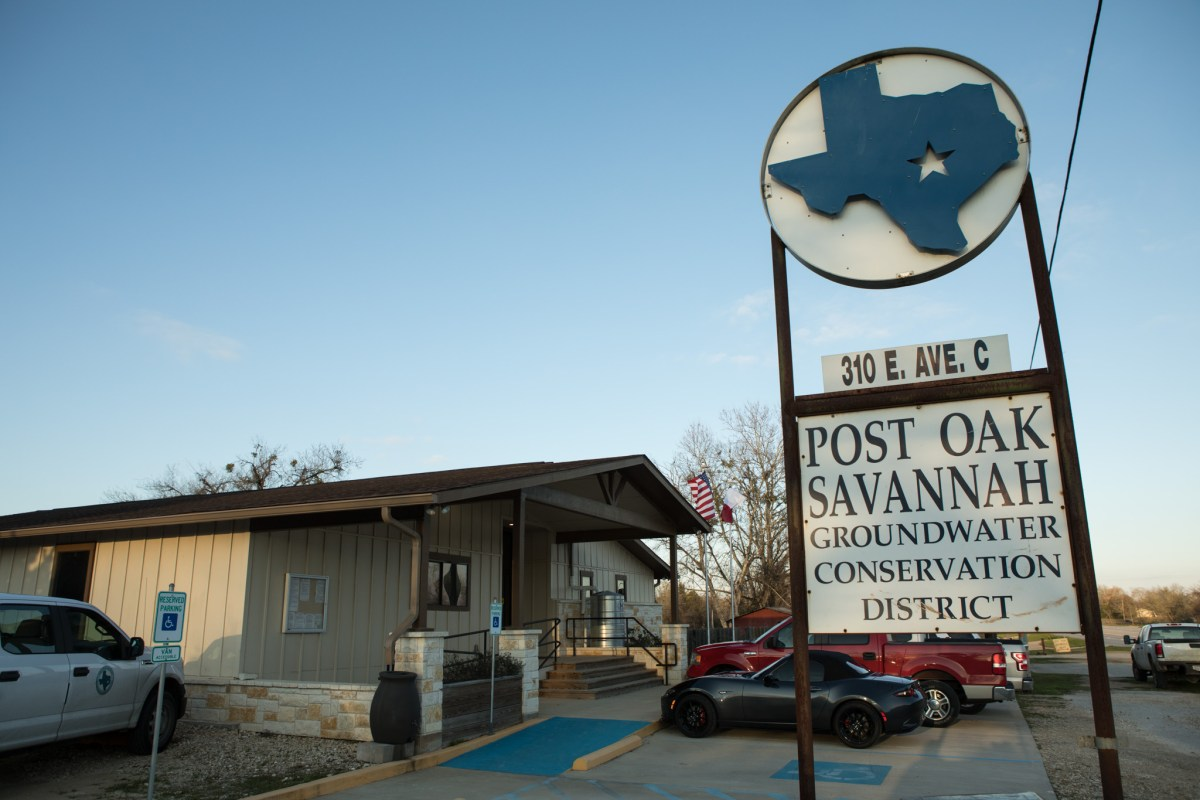 SAWS To Pay Groundwater District $75,000 To Settle Probe Over Vista Ridge Flushing