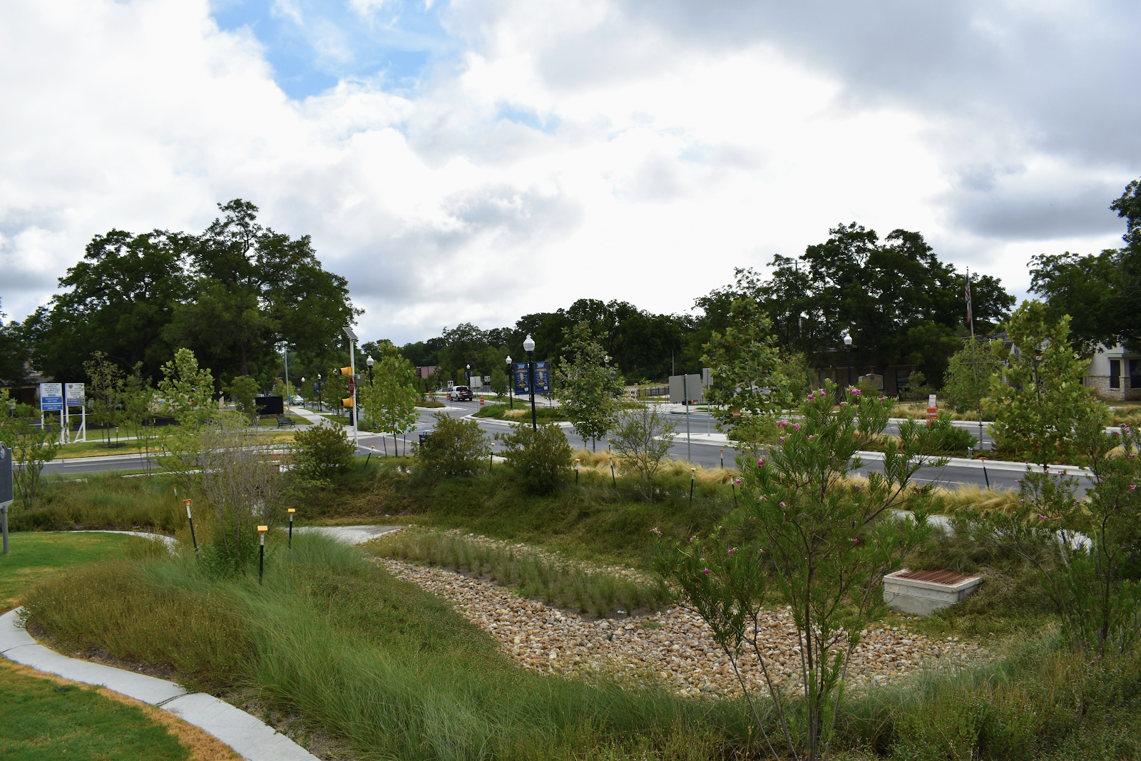 Green Stormwater Infrastructure In San Marcos, TX