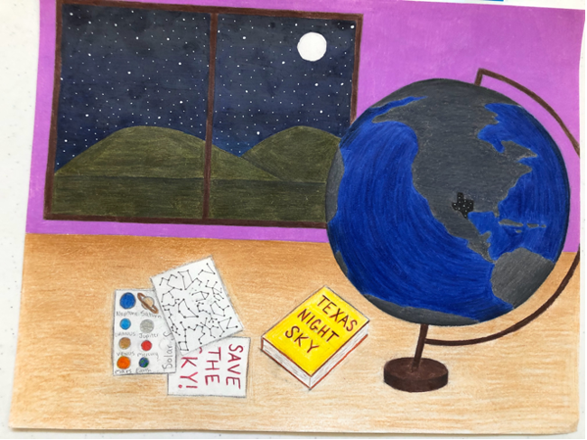 Taking 1st place in the Middle School category was Erin Mahoney