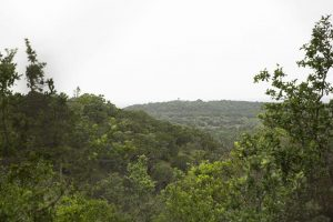 View of the Texas Hill Country landscape
