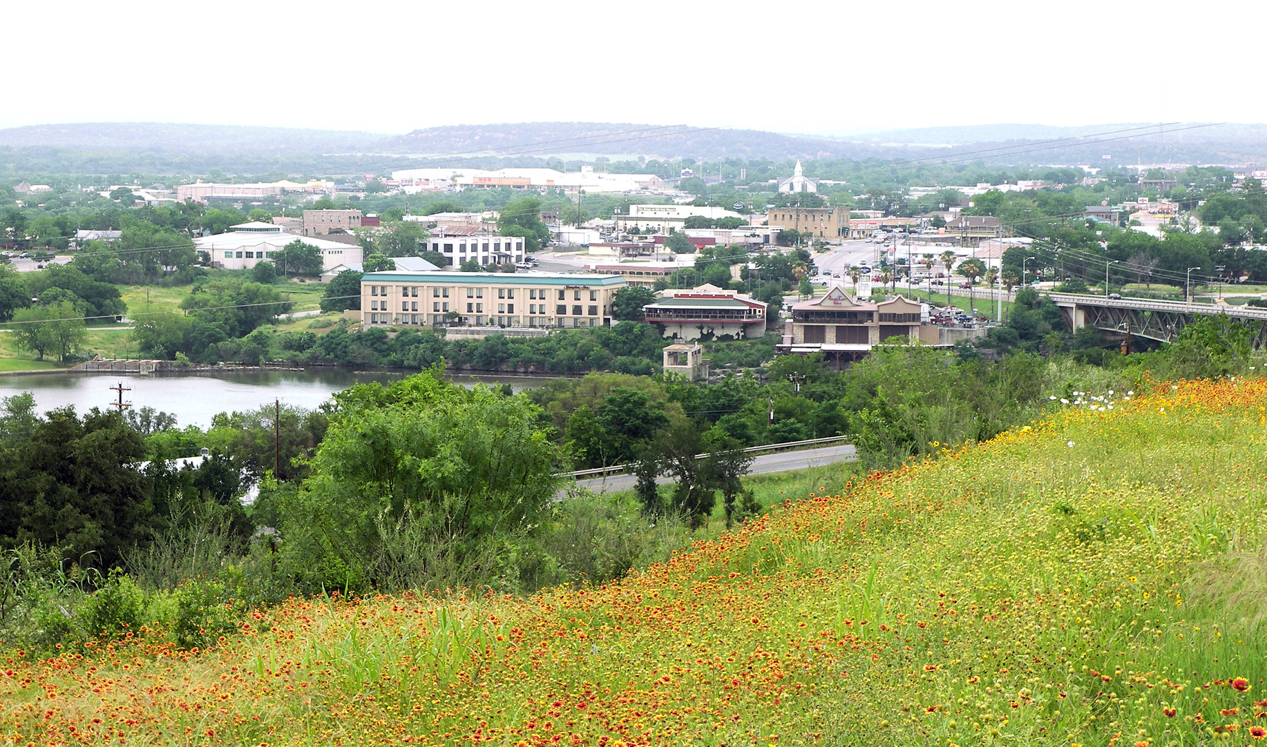 View Of Marble Falls, 2007
