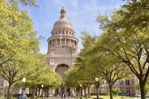 Photo of the Texas State Capitol