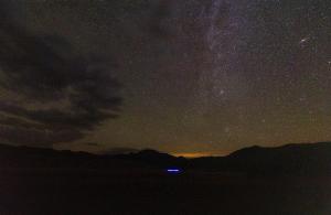An open night sky