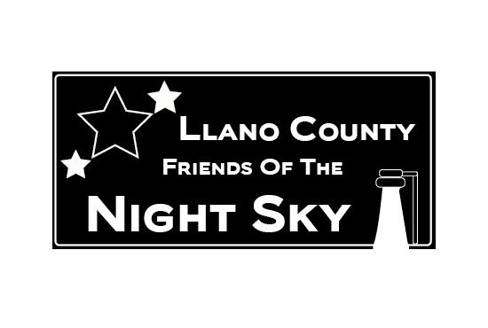 Llano County Friends Of The Night Sky Logo