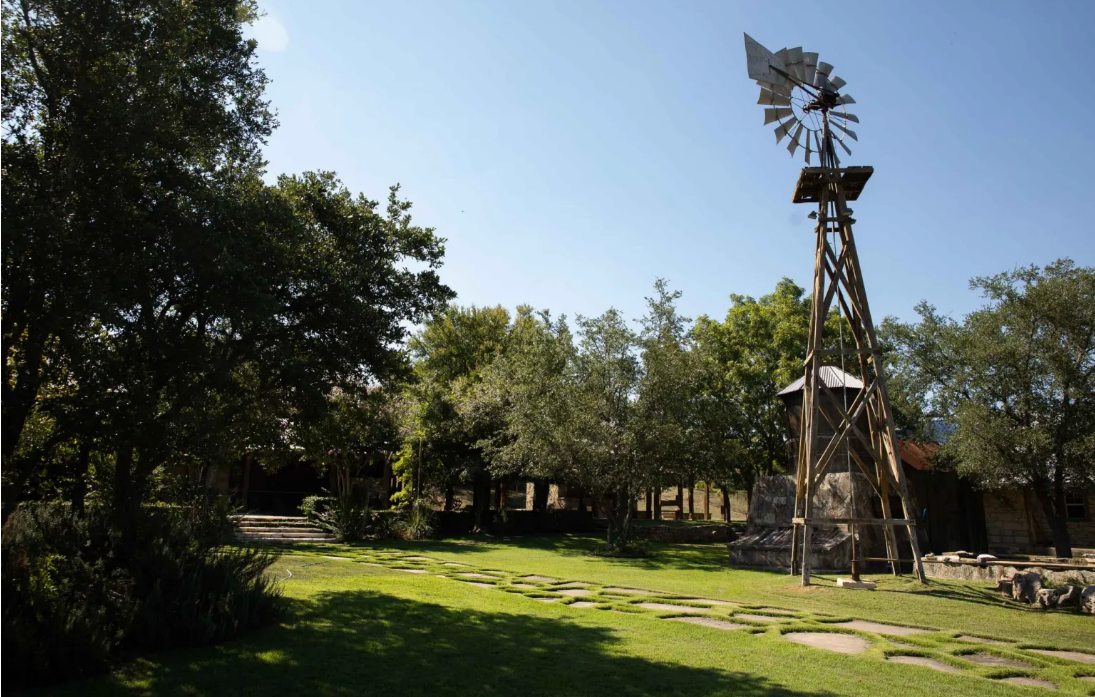 Photo Of Park With A Windmill