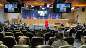 Photo of Austin City Council in a meeting