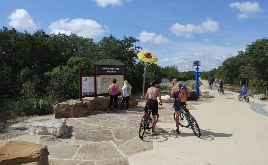 San Antonians Can Travel For 40 Straight Miles With New Trail Extension